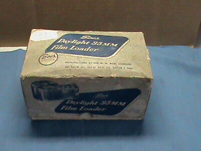 Vintage Boes Daylight 35mm Film Loader in Original Box
