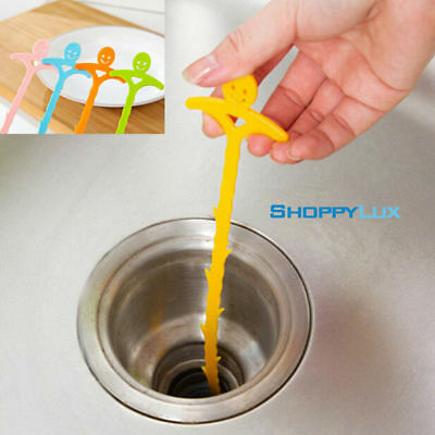 Sink Hair Drain Cleaner Bathroom Sewer Clog Removal Tool Unclog Home Pipes