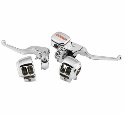 BIKER/'S CHOICE Handlebar Control Kit No Switch CHROME Harley-Davidson FXD  96-06