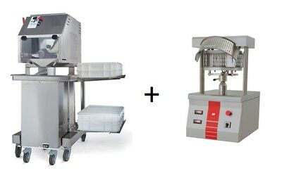 Pizza Dough Divider Rounder + Hot Pizza Press For Pizza Diameter 18""