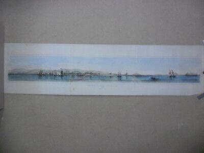 Peru panoramic view callao port de lima Orbigny 1838