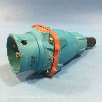 Meltric 63-38043-972 Connector Male 3 Pole Usip