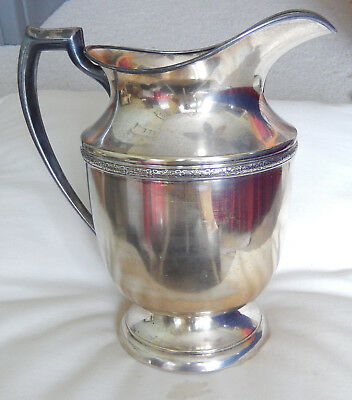 Benedict Silver Water Pitcher