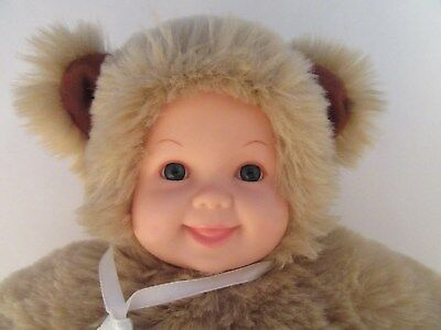 "Anne Geddes 14"" Baby Doll - Plush & Soft Teddy Bear Costume"