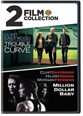 Trouble With The Curve / Millon Dollar Baby (2018, DVD NEW)2 DISC SET