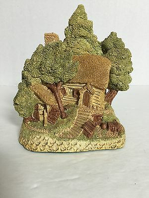 David Winter Hermits Humblehome Cottage 1985 with Original Box 031716