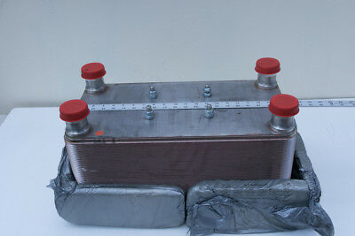 Gea Brazed Plated Heat Exchanger WP 7M-80 10 x 21  80 Plates