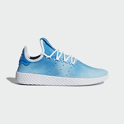 133870181b9d1 NEW ADIDAS YOUTH Pharrell Williams Pw Tennis Hu Shoes  Cq2300  Br Blue   white -  79.99