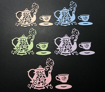Tea Set Die Cuts - Pkt 10 (5 Sets)