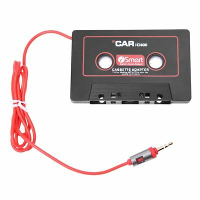 Car Audio Systems Car Stereo Cassette Tape Adapter for Mobile Phone MP3 AUX J7H8