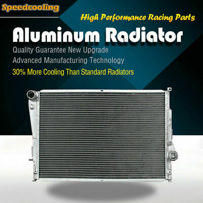 2627 2ROW 56mm Aluminum Radiator For BMW E46 M3 L6 3.2L S54 2001-2006