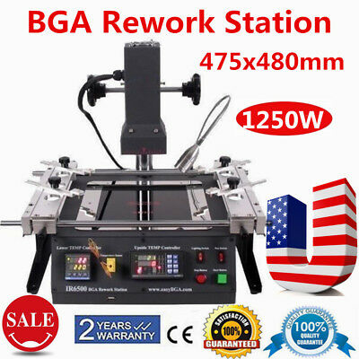 IR BGA  IR6500 Rework Station  Infrared Xbox 360 PS3 Repair Soldering Welding US