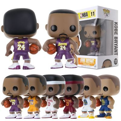 FUNKO POP Basketball NBA World Star PVC Vinyl Action Figure Collectible Toy Gift