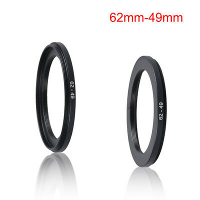 62mm to 49mm Stepping Step Down Filter Ring Adapter 62mm-49mm