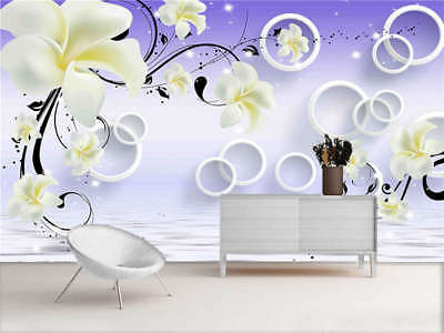 Normal Windy Violet 3D Full Wall Mural Photo Wallpaper Printing Home Kids Decor