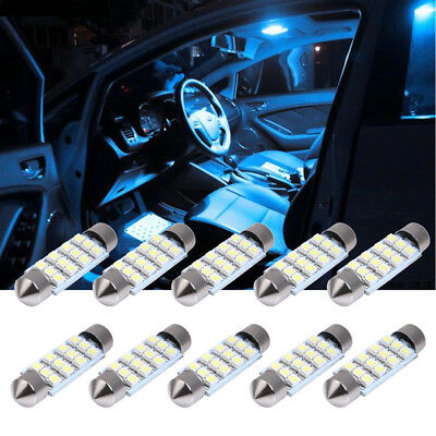 10x Soffitte 3528 SMD LED 41mm weiß CANBUS Auto Innenraum Beleuchtung 12V