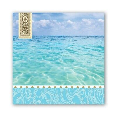 Beach Luncheon Napkins by Michel Design Works - Pack of 20
