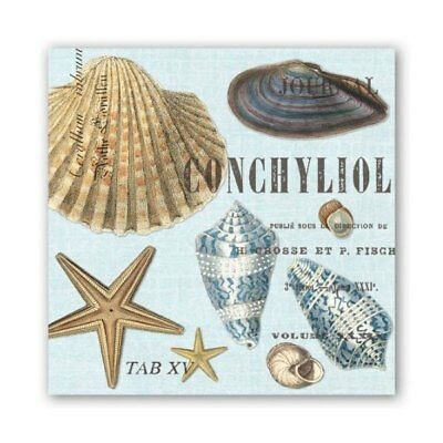 Seashells Luncheon Napkins by Michel Design Works - Pack of 20