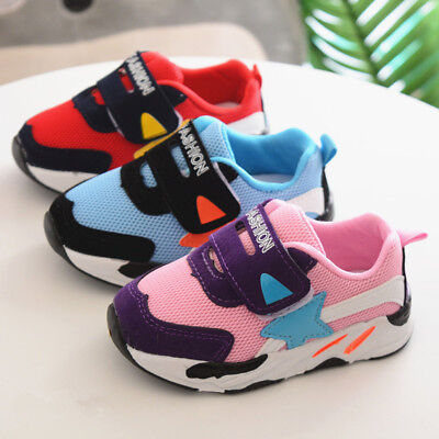 2018 Baby Shoes Boy Breathable Toddler Girl Sport Shoes Kids Casual Shoes Size