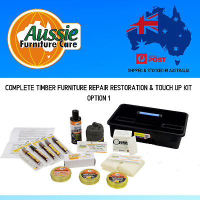 Complete Timber Furniture Repair Kit Option 1 for minor repairs & restorations