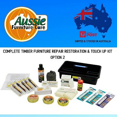 Complete Timber Furniture Repair Kit Option 2 for minor repairs & restorations
