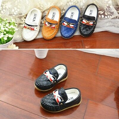 Baby Boy Casual Boat Shoes Elastic sole Toddler Kids Children Slip-on Shoes