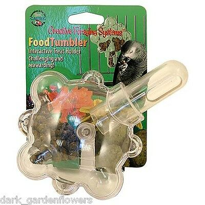 Food Tumbler Foraging Parrot Toy African Grey to Macaw