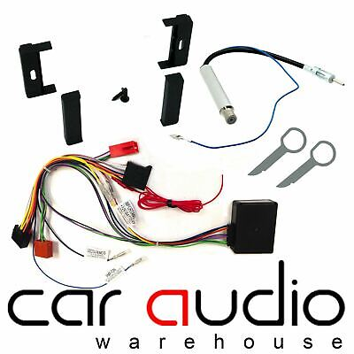 AUDI TT 1998 - 2006 MK1 3 Way Active Audio System Car Stereo Upgrade Fitting Kit