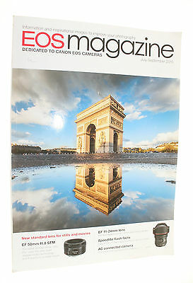 Canon Eos Magazine For Eos Cameras July-September 2015 Used