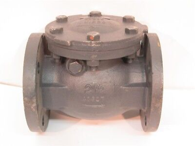"Nibco F-918-B, 2-1/2"" Flanged Check Valve, 125 SWP, 200 WOG"