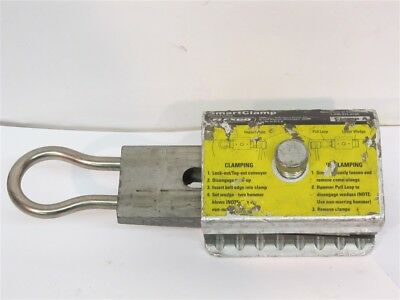 Flexco 04073, Clamp A Smart Clamp, Conveyor Belt Fastener System Accessory, USED