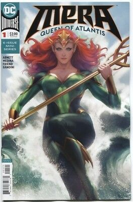 Mera Queen Of Atlantis #1 Stanley Lau Artgerm Variant Cover Nm