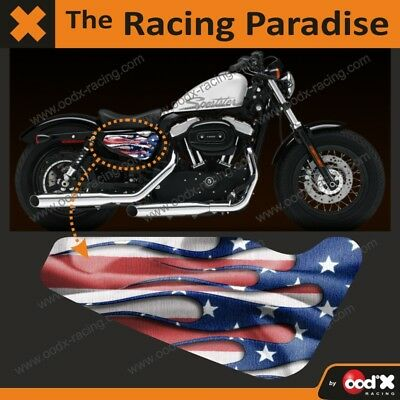 Sticker Stars and Stripes Harley Sportster Forty-eight Iron 883 1200 Custom