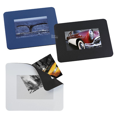 Photo Mouse Pad Computer Mat Insert Changeable Office Business Custom Picture