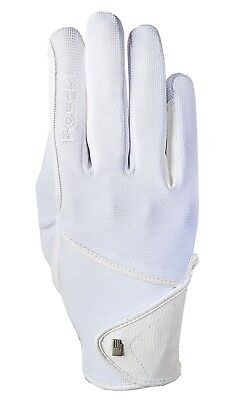 (7.5, White) - Roeckl - riding gloves MADISON. Brand New
