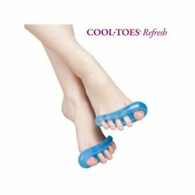 A pair Toe Separators Stretchers Straighteners Alignment Bunion Gel Pain Relief