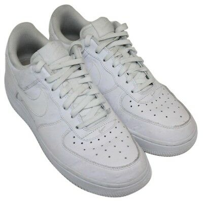 wholesale dealer e328a ab73b Nike Air Mens White Dotted Casual Athletic Lace Up Sneakers Shoes Size 6