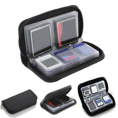 Memory Card Carrying Case Holder Wallet Storage Suitable for CF/SD/SDHC/MS/DS