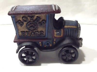 Boyd's Bears 1988 Bugsby's Getaway Cast Iron Truck