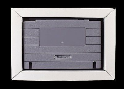 Super Nintendo SNES Replacement Game Tray Insert [Center Middle Variant]