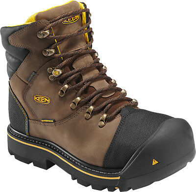 Keen Utility Men's Milwaukee Steel Toe Waterproof Work Boots Style 1009174