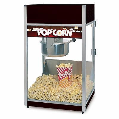 Global Solutions by Nemco 8oz Tempered Glass Popcorn Popper w/ Removeable Kettle