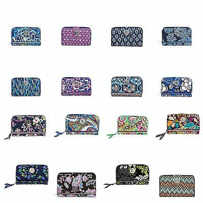 Vera Bradley Turn Lock Wallet Clutch zip around color choice  freeShip NewWT