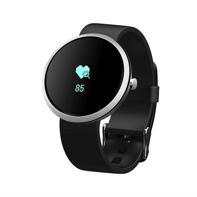 (Black) - Smart Bracelet S50 Activity Tracker With Heart Rate Monitor, Fitness