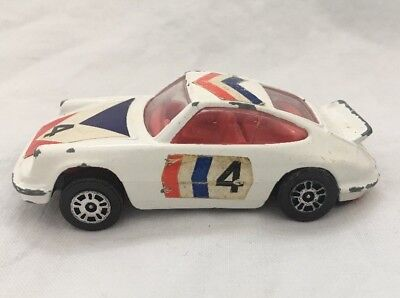 Vintage Corgi Juniors PORSCHE CARRERA Diecast Car Great Britain
