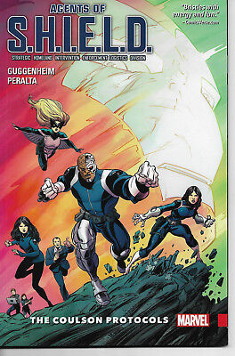 Agents of Shield The Coulson Protocols   - softcover TPB - NEW