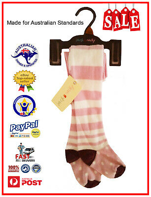 GENUINE AUS LICENSED Jack & Milly Girls Thick Winter Tights Stockings /Feet-SALE