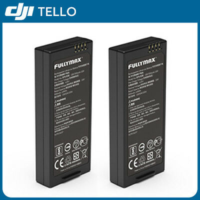 2-PACK Original RYZE DJI Tello Drone Intelligent Flight Battery 1100 mAh 3.8V
