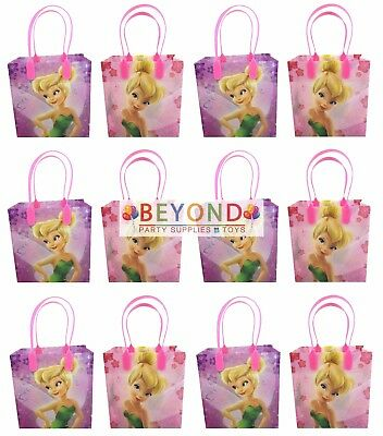 Tinker Bell Goody Bags, Disney Tinkerbell Party Favor Goodie Bags Gift Bags