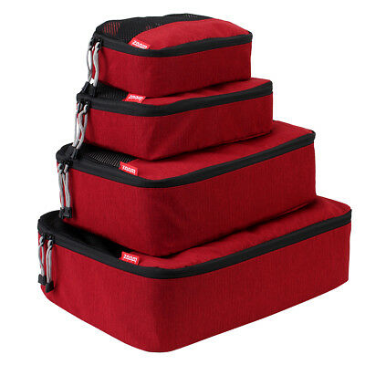 NEW Executive Packing Cube Suitcase Storage Bags 4 pcs-Travel Luggage Organiser